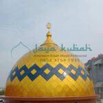 Pembuatan Kubah Masjid Galvalum
