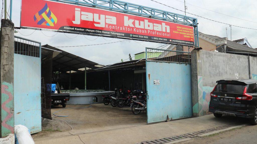 Pembuat Kubah Masjid di Makassar